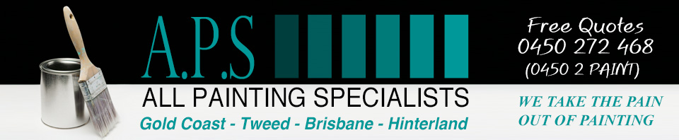 Painter Gold Coast - All Painting Specialists - Brisbane Painters